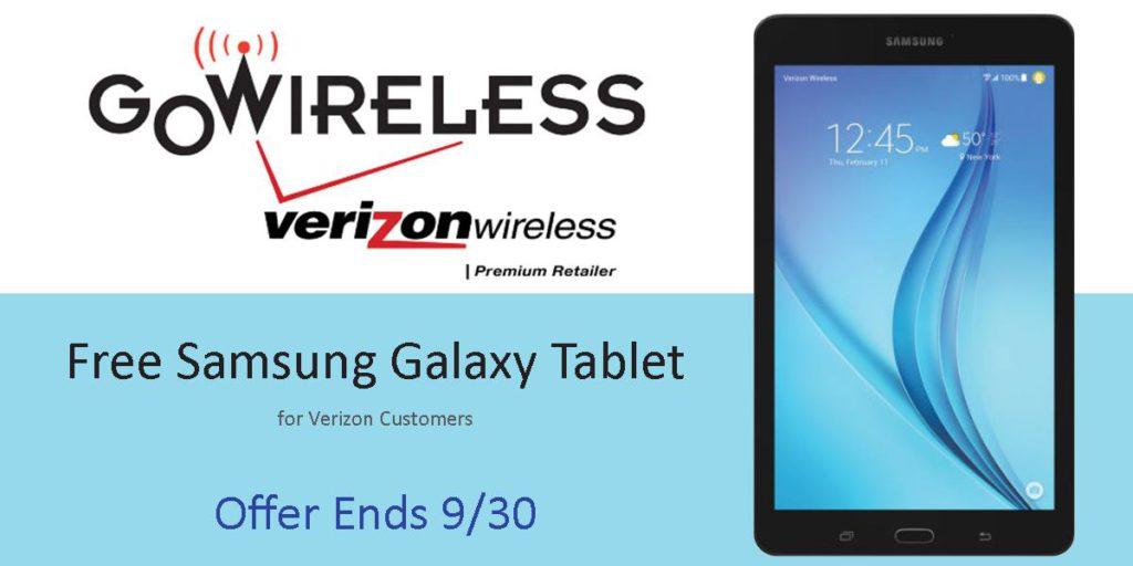 Go Wireless - Free Tablet